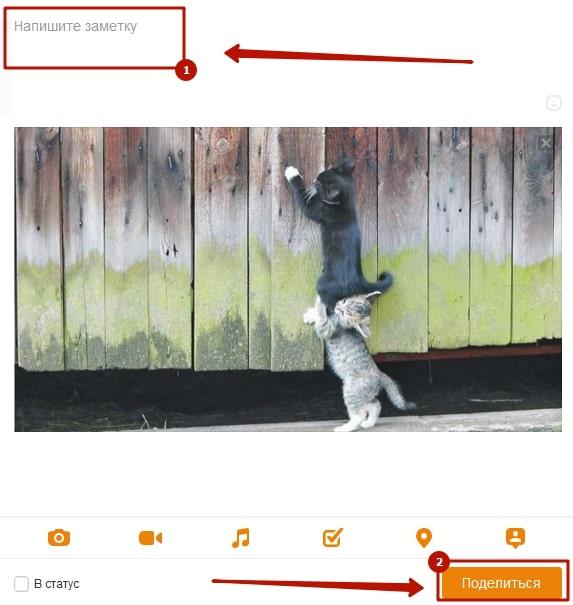 Подпись под фото в Одноклассниках 8-min